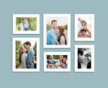 Load image into Gallery viewer, Decorous Black Wall Photo Frame - Set of 6 Individual Photo Frame