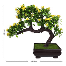 Load image into Gallery viewer, Green and Purple Bonsai Plant for Table and Home