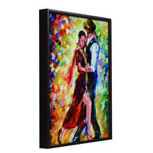 Load image into Gallery viewer, Dancing Couple Theme 1 Framed Canvas Painting