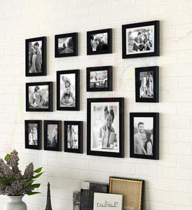 Family Bond Black Wall Individual Photo Frame / Wall Hanging
