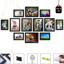 Load image into Gallery viewer, Individual Black Wall Photo Frames Wall Decor