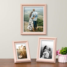 Load image into Gallery viewer, Set Of 3 Photo Frames For Table Top Display And Wall Mounting Picture Frame Home Decor