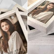 Load image into Gallery viewer, MDF Wooden Table Top Box Photo Frame