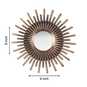 Sun Streek Decorative Wall Mirror (Set of 3)(Size - 9 x 9 inch)
