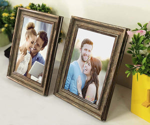 Designer Copper Table fhoto Frame Set 2