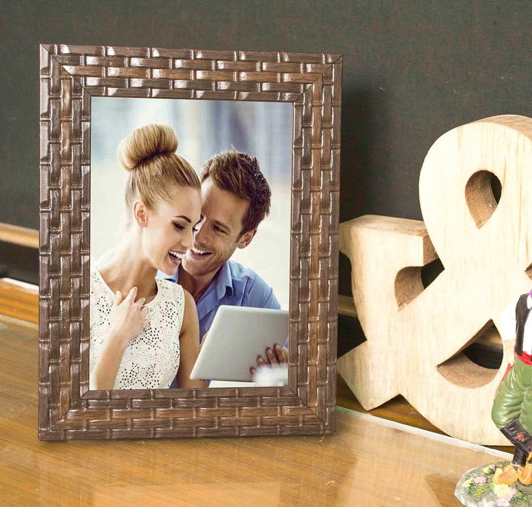 Brown Bar Table Photo Frame