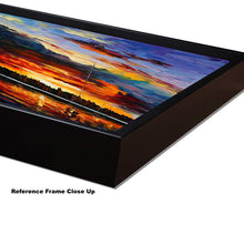 Load image into Gallery viewer, Art Street Amidst The Forest Art Print,Landscape Canvas Painting