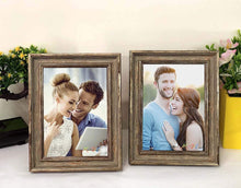 Load image into Gallery viewer, Designer Copper Table fhoto Frame Set 2