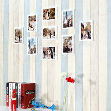 Load image into Gallery viewer, Parallel Set of 9 Individual White Wall Photo Frame