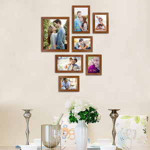 Triumphet Individual Fiber Wood Wall Photo Frames