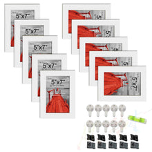 Load image into Gallery viewer, 10 Individual Wall Photo Frames / Wall Decor Set