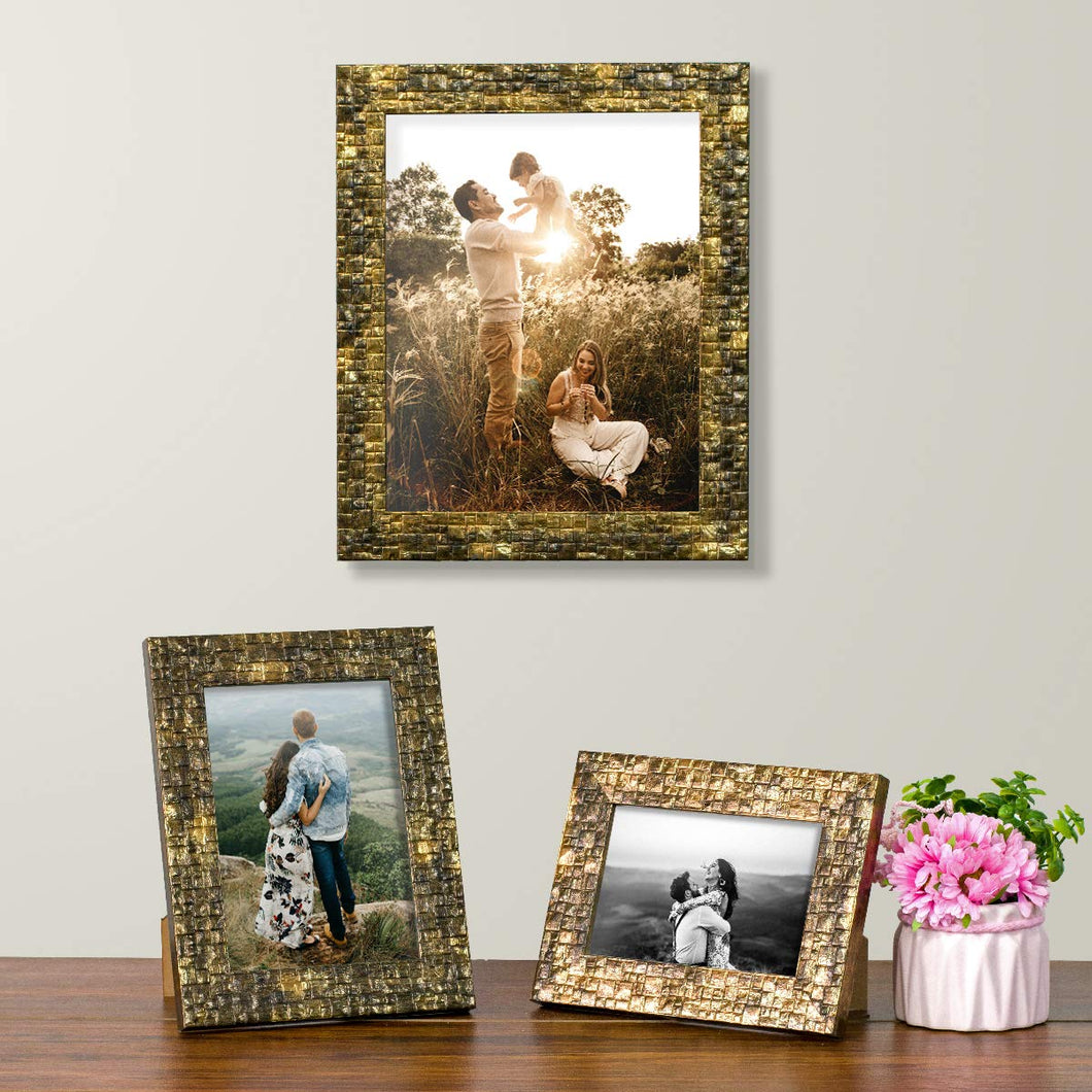 Set Of 3 Photo Frames For Table Top Display And Wall Mounting Picture Frame Home Decor