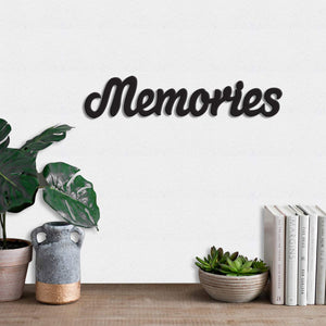 Art Street Memories MDF Plaque Painted Cutout Ready to Hang Home Décor Wall Art