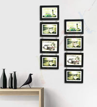 Load image into Gallery viewer, Impressive Drop Chain Synthetic Frame Set of 8 Photo Frames