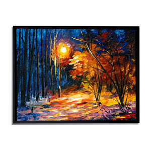 Art Street Nature in Classic Form Art Print,Landscape Canvas Painting