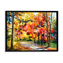 Load image into Gallery viewer, Art Street Painting Mantra Floral Beauty Art Print Landscape Canvas