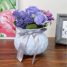Load image into Gallery viewer, Artificial  Rose Flowers Plants in Ceramic Pot/Planter for Home.