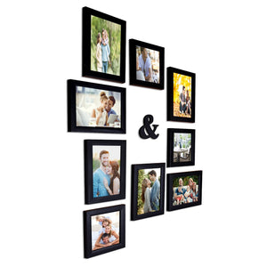 Wall Photo Frame Set Of 9