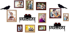 Load image into Gallery viewer, Bird's Nest Individual Wall Photo Frame - Mix Color With 2 PVC Wall Self