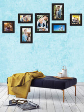 Load image into Gallery viewer, Individual Black Wall Photo Frames Wall Decor Set