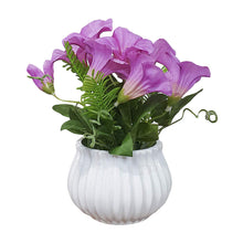Load image into Gallery viewer, Artificial Table Orchid Plants/Flower in Ceramic Pot/Planter for Home.