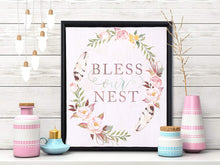 Load image into Gallery viewer, Bless Our Nest Framed Canvas