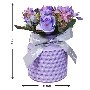 Artificial Flowers/Plants/Flower in Ceramic Pot/Planter for Home, Garden dŽcor Decoration