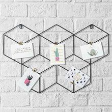Load image into Gallery viewer, Butterfly Shape DIY Metal Photo Grid Wall for Photo Hanging