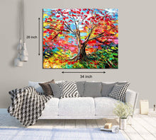 Load image into Gallery viewer, Art Street Vivacious Tree Art Print,Landscape Canvas Painting