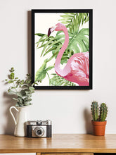 Load image into Gallery viewer, Flamingo Theme Printed Wall Art Print -12 X 16 Inch