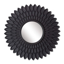 Load image into Gallery viewer, Black hive Decorative Wall Mirror (Set of 3)(Size - 9 x 9 inch)