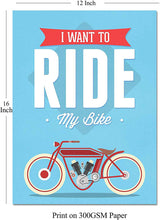 Load image into Gallery viewer, Motivational Quote 2 Poster Set # Life is a Beautiful Ride- 12 X 16 Inch.