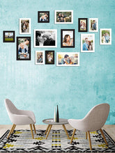 Load image into Gallery viewer, Individual Black & White Wall Photo Frames Wall Decor Set