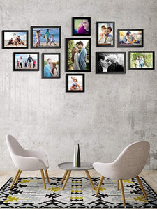 Small Boulevard 11 Individual Wall Photo Frames Wall Decor Set