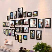 Load image into Gallery viewer, Delighted Set of 28 Individual Black Wall Photo Frame