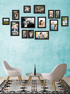Individual Black & White Wall Photo Frames Wall Decor Set