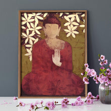 Load image into Gallery viewer, Budha Theme 1 Framed Canvas