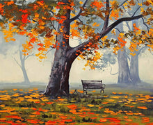 Load image into Gallery viewer, Mesmerizing Autumn Art Print,Landscape Canvas Painting