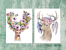 Load image into Gallery viewer, Beautiful Deer Theme 2 Poster Set