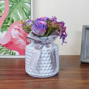 Artificial Flowers/Plants/Flower in Ceramic Pot/Planter for Home and office