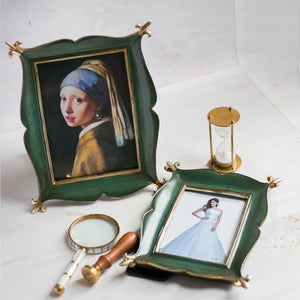 Set Of 2 Magical Carpet Shape Table Photo Frame For Home Decor
