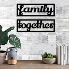 Load image into Gallery viewer, Art Street Family Together MDF Plaque Painted Cutout Ready to Hang Home Décor, Wall Décor, Wall Art …