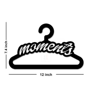 Art Street Moments MDF Plaque Painted Cutout Ready to Hang Home Décor, Wall Décor, Wall Art