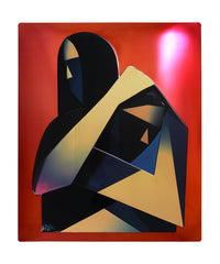 ADAM NEATE . THE HUG (avant garde) . DIMENSIONAL EDITION