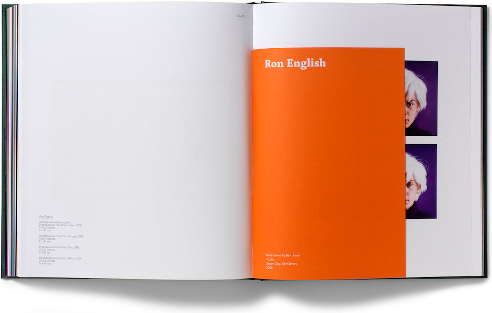 RON ENGLISH limited edition book for sale from ELMS LESTERS