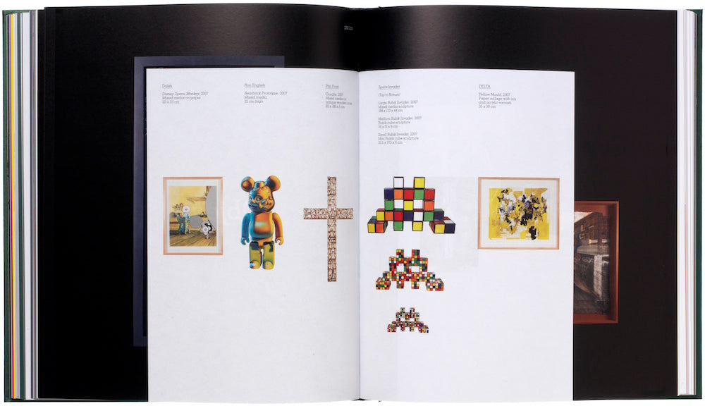 SPACE INVADER limited edition BOOKS for sale from ELMS LESTERS