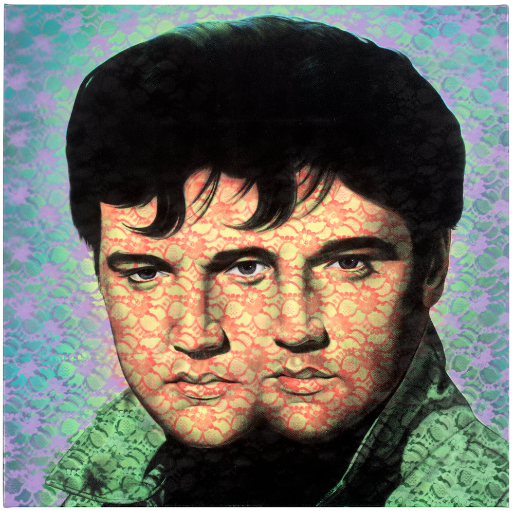 ELVIS ELVIS set of four unframed prints