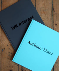 WK Interact / Anthony Lister book