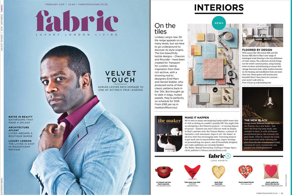 FABRIC magazine, Luxury, london, living in the UK - Designer Style - Lindsey Lang