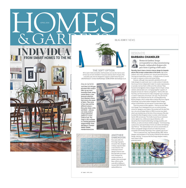 Homes & Gardens Edit with Barbara Chandler